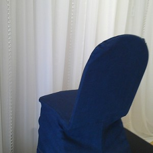 Denim Chair Cover