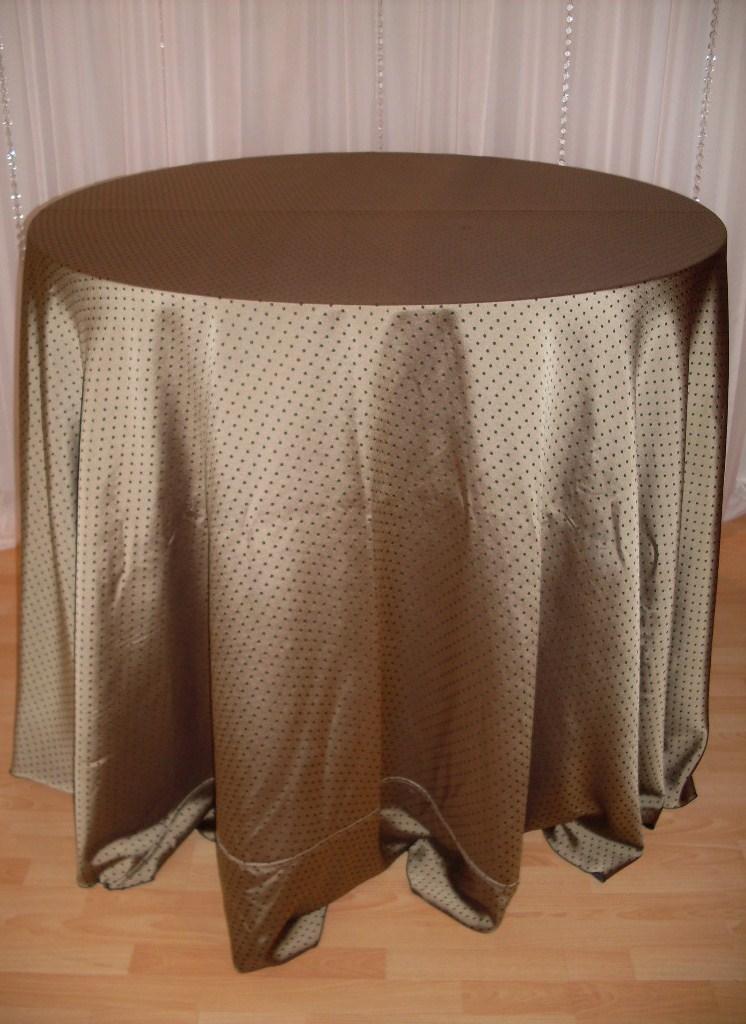 Chair Decor 187 Black Magic Tablecloth