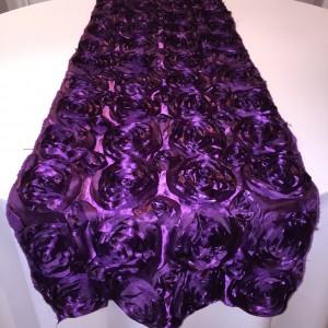Rosette-Eggplant Runner