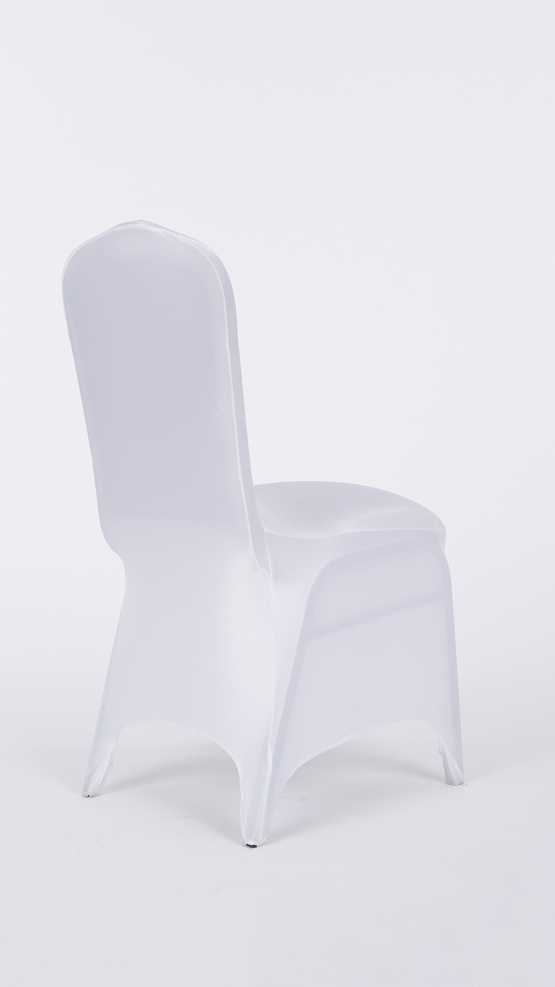Super White Stretch Chair Cover Chair Decor Pabps2019 Chair Design Images Pabps2019Com