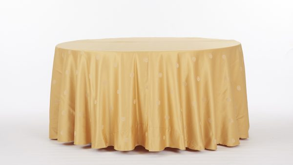Linens-BrownsAndGolds-GoldSphere-1