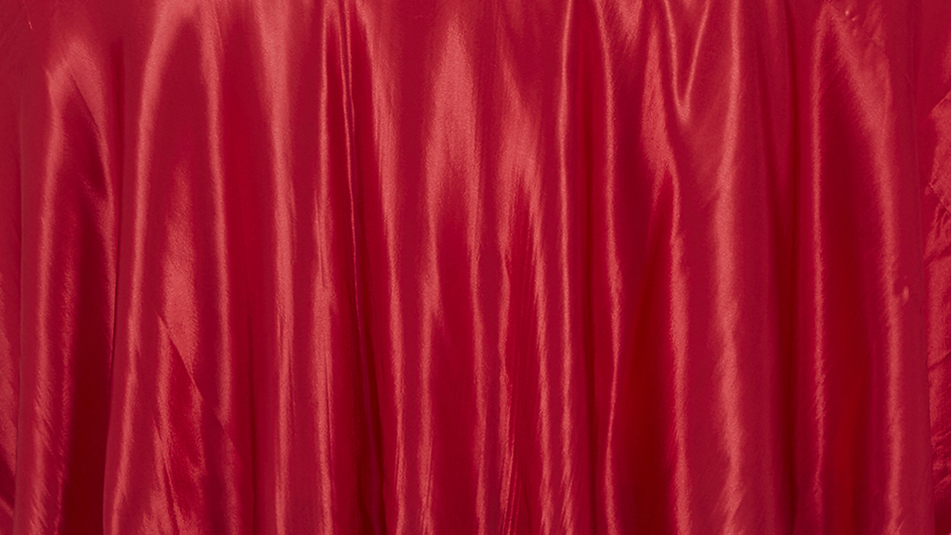 Red Satin Tablecloth | Chair Decor