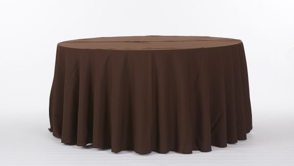 Linens-BrownsAndGolds-BrownPoly-1