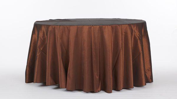 Linens-BrownsAndGolds-ChocolateTaffeta-1